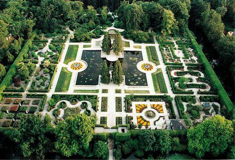 Jardín Castel en Arcen. Holanda
