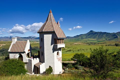 the castle in clarens