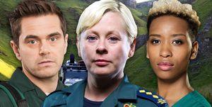 Casualty Mountains, Dixie, Iain Dean, Archie Hudson