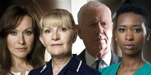 Casualty – Connie, Duffy, Charlie and Archie