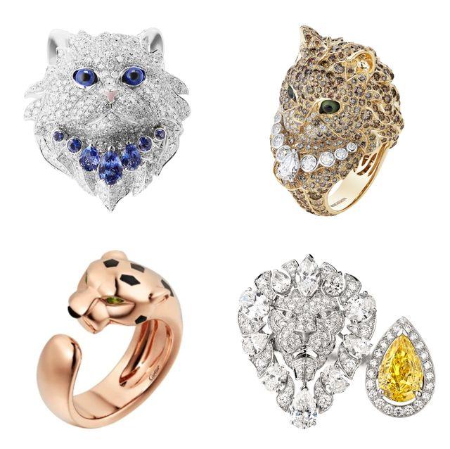貓奴的夢幻系珠寶特蒐!boucheron貓咪、cartier美洲豹、chanel獅子,15款指尖上的小貓讓心都融化