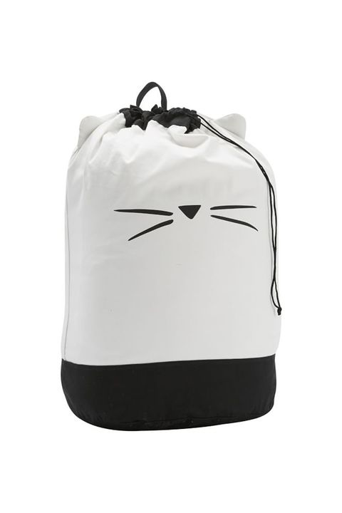 White, Bag, Footwear, Backpack, Cap, Luggage and bags, Black-and-white, Shoe,