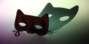 Cat Ear Mask with Dark Shadow