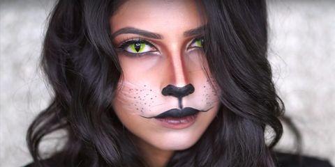 Halloween Makeup Devil Girl.20 Emoji Halloween Costume Ideas For 2019 Easy Emoji Costumes