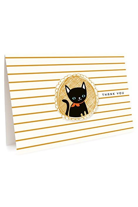 cat thank you notes