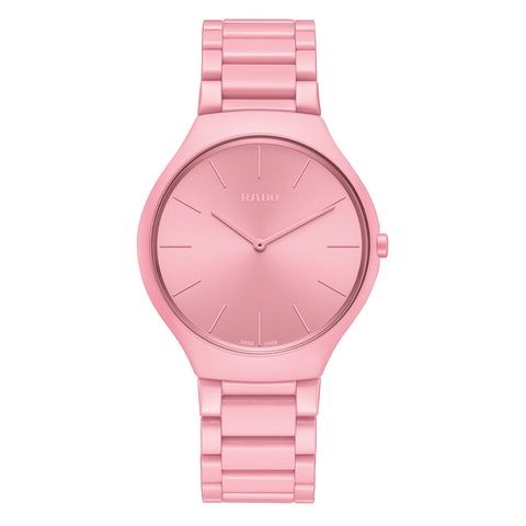 Watch, Analog watch, Pink, Product, Strap, Watch accessory, Magenta, Fashion accessory, Jewellery, Material property,