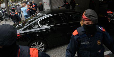 spain catalonia politics protest