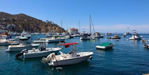 Body of water, Marina, Harbor, Water transportation, Boat, Sea, Port, Sky, Vehicle, Coast,
