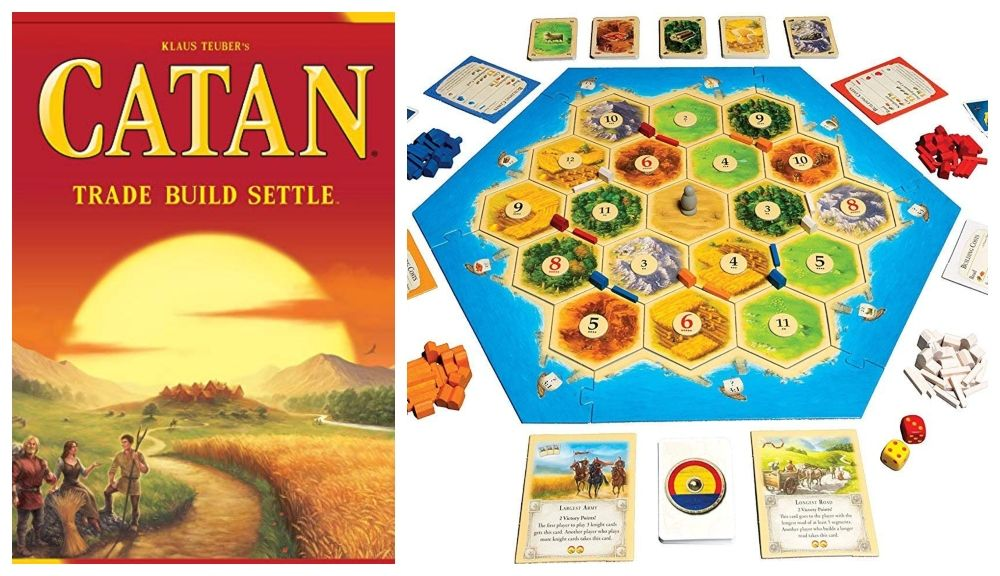 Catan game photo