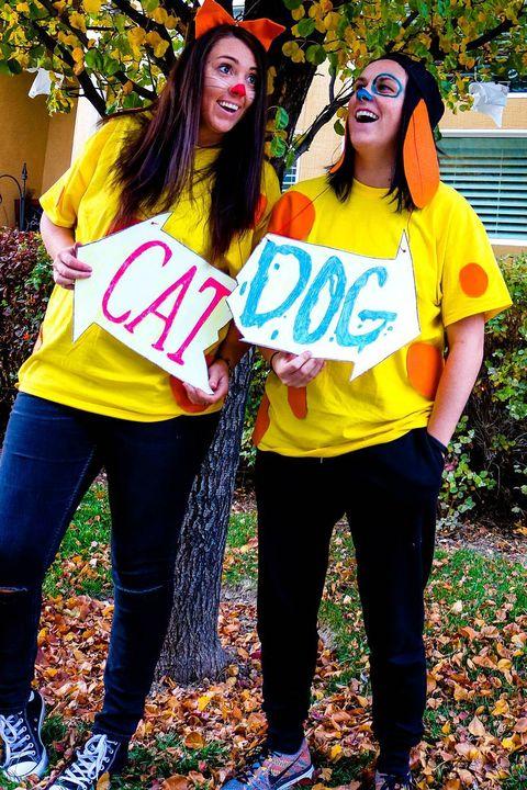 90s halloween costume catdog