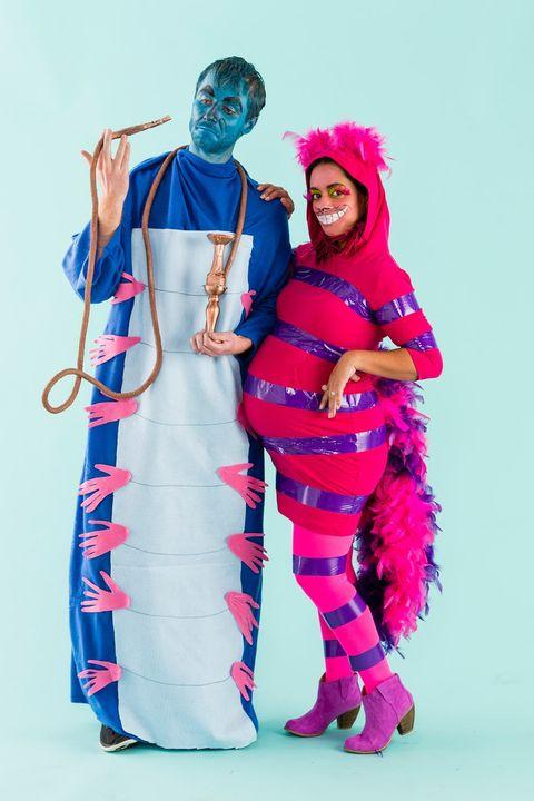 cheshire cat and caterpillar alice in wonderland costumes
