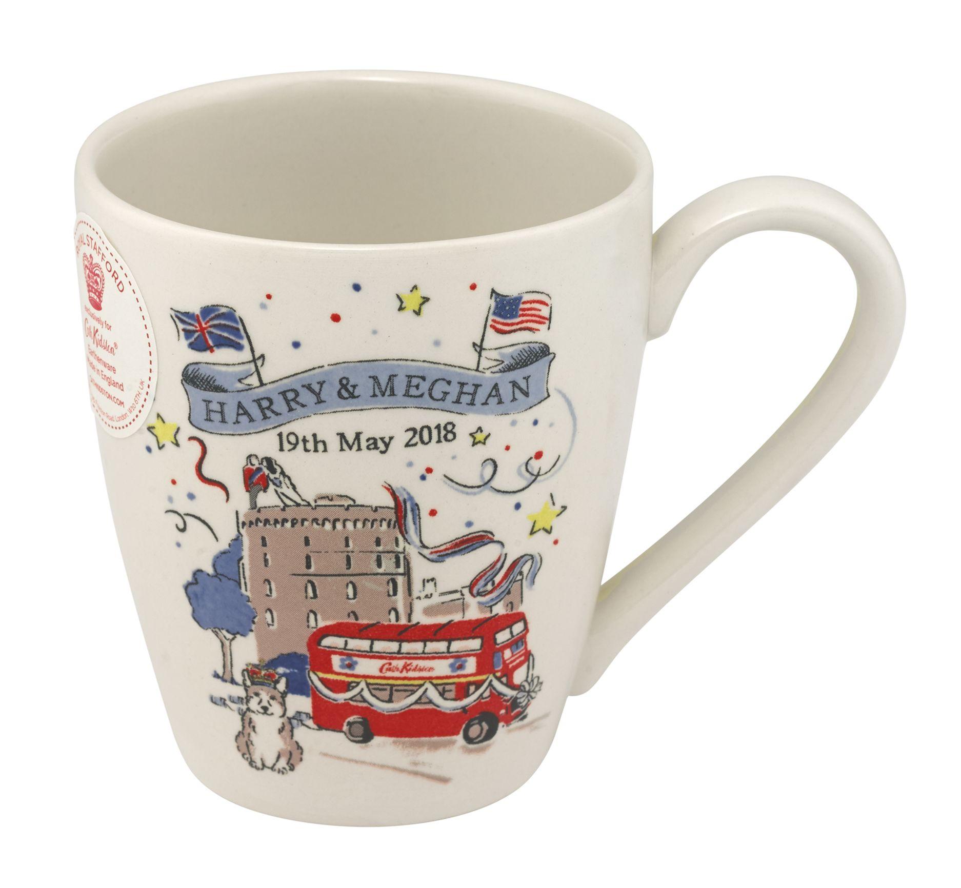 Cath Kidston's royal wedding collection. Mug,