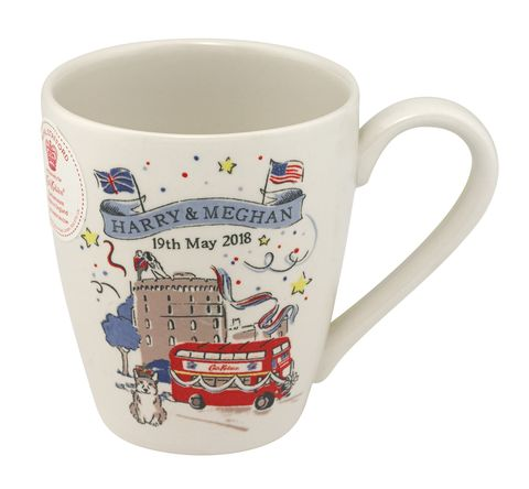 Cath Kidston's royal wedding collection. Mug,