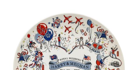 Cath Kidston's royal wedding collection. Plate, £10