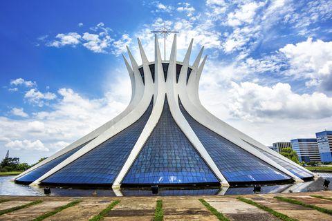 cathedral of brasilia, capital of brazil