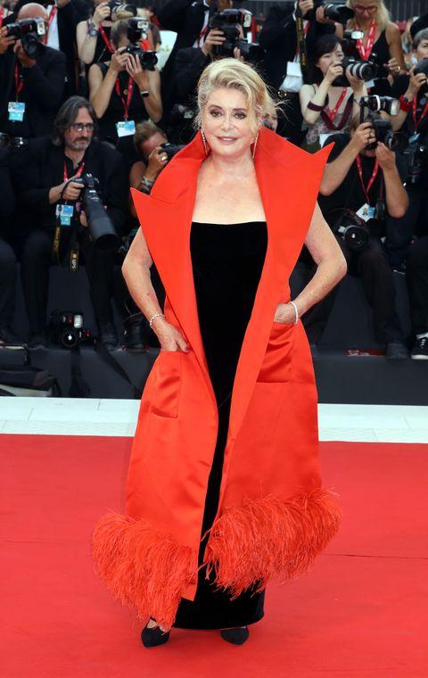 Catherine Deneuve en el Festival de Cine de Venecia