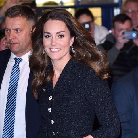 Kate Middleton glitters in sparkly heels for night out