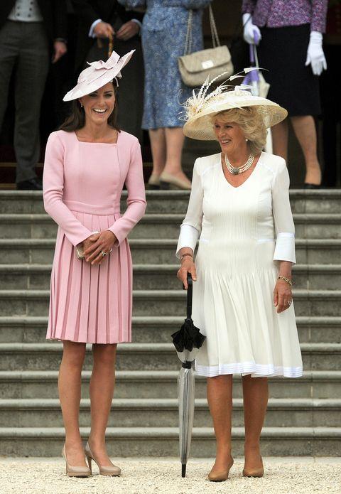 Queen Elizabeth II Hosts A Garden Party At Buckingham Palace