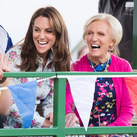Kate Middleton Prince William To Help Mary Berry In The