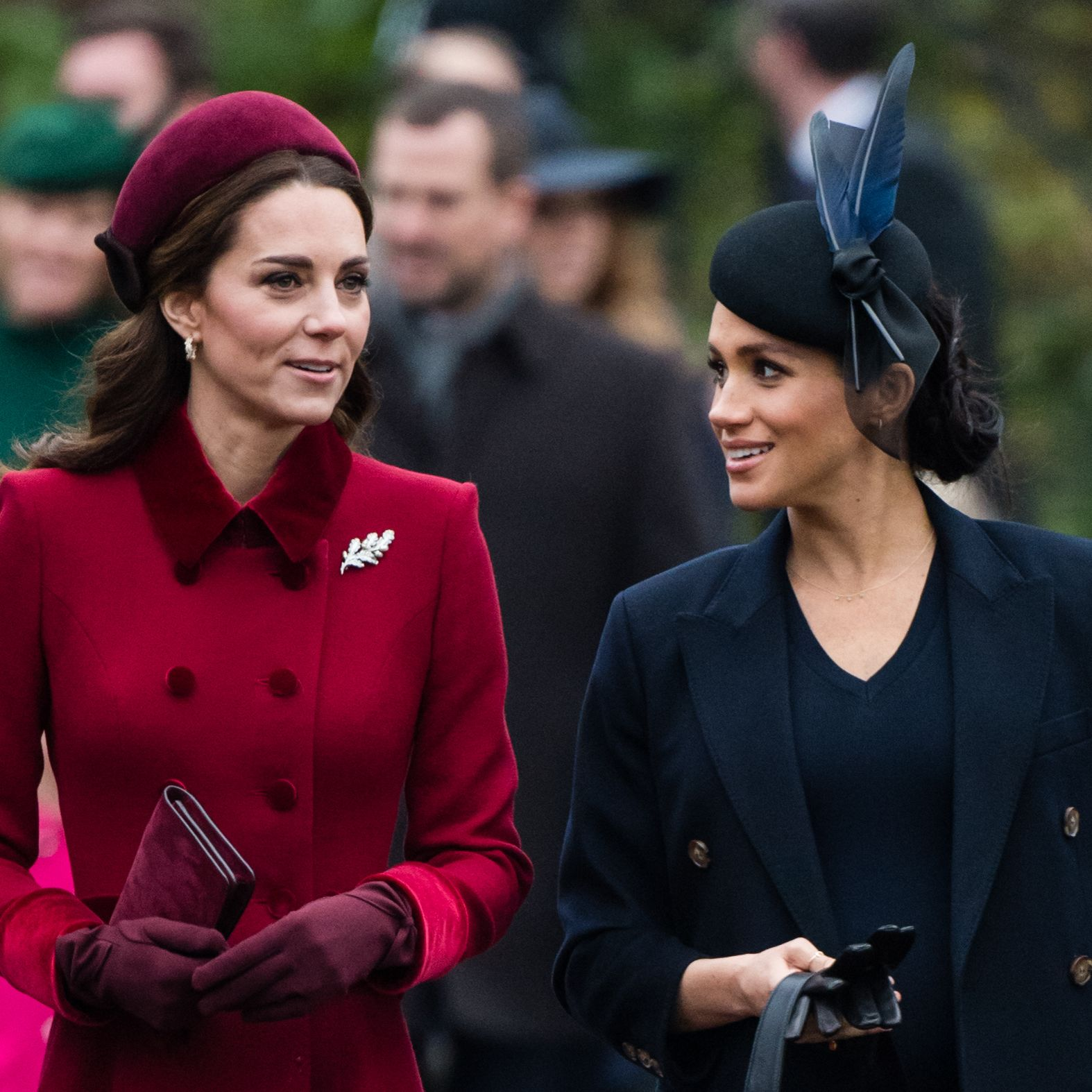 Meghan Markle and Kate Middleton Had a Super-Cute Sister-in-Law Moment at a Royal Event Today
