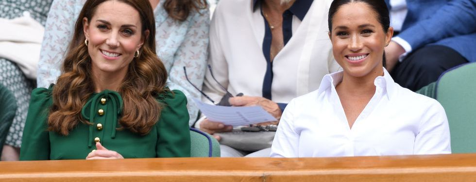 The two women showed the world how close they were today at Wimbledon.