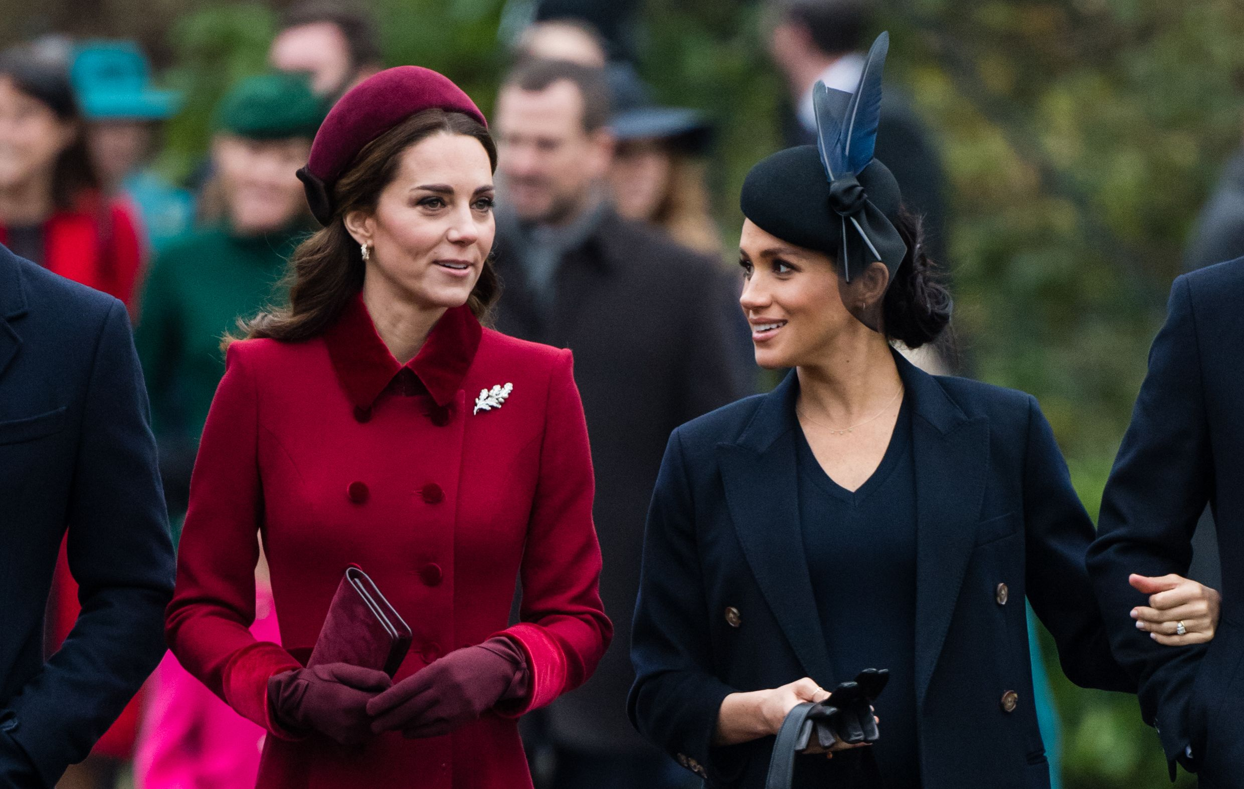 "Aw Man, Meghan Markle and Kate Middleton Will Reportedly ""Never Be Best Friends"""