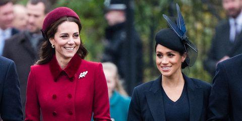 キャサリン妃とメーガン・マークル