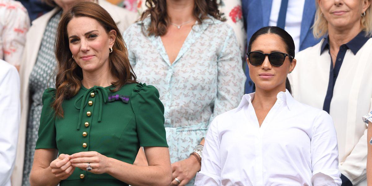 Meghan Markle's biograaf deelt eerdere e-mail van haar over het Kate Middleton-incident - ELLE Magazine