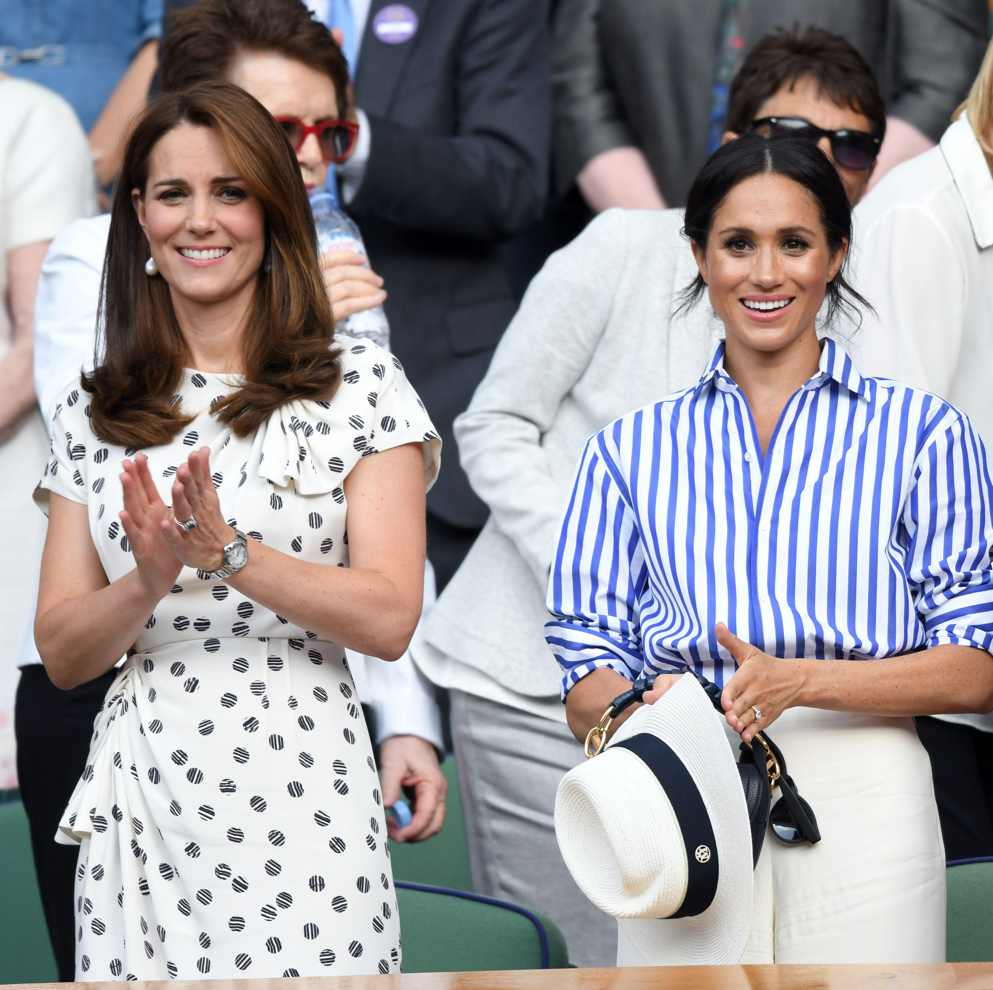 Kate Middleton mengaku ia sangat menantikan kelahiran bayi Meghan Markle (dok. Cosmopolitan)