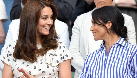Celebrities Attend Wimbledon