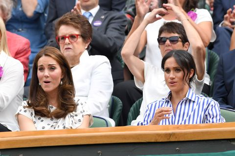 kate middleton meghan markle Celebrities Attend Wimbledon