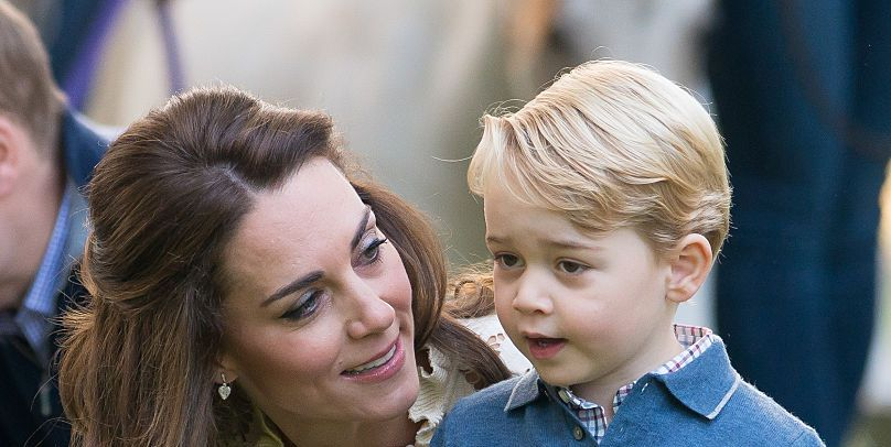 Kate Middleton Instagrams Prince George Mother's Day Card