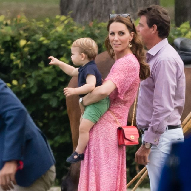 b82c7486555be prince louis kate middleton The Duke Of Cambridge And The Duke Of Sussex  Take Part In