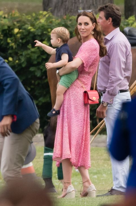 prince louis kate middleton The Duke Of Cambridge And The Duke Of Sussex Take Part In The King Power Royal Charity Polo Day