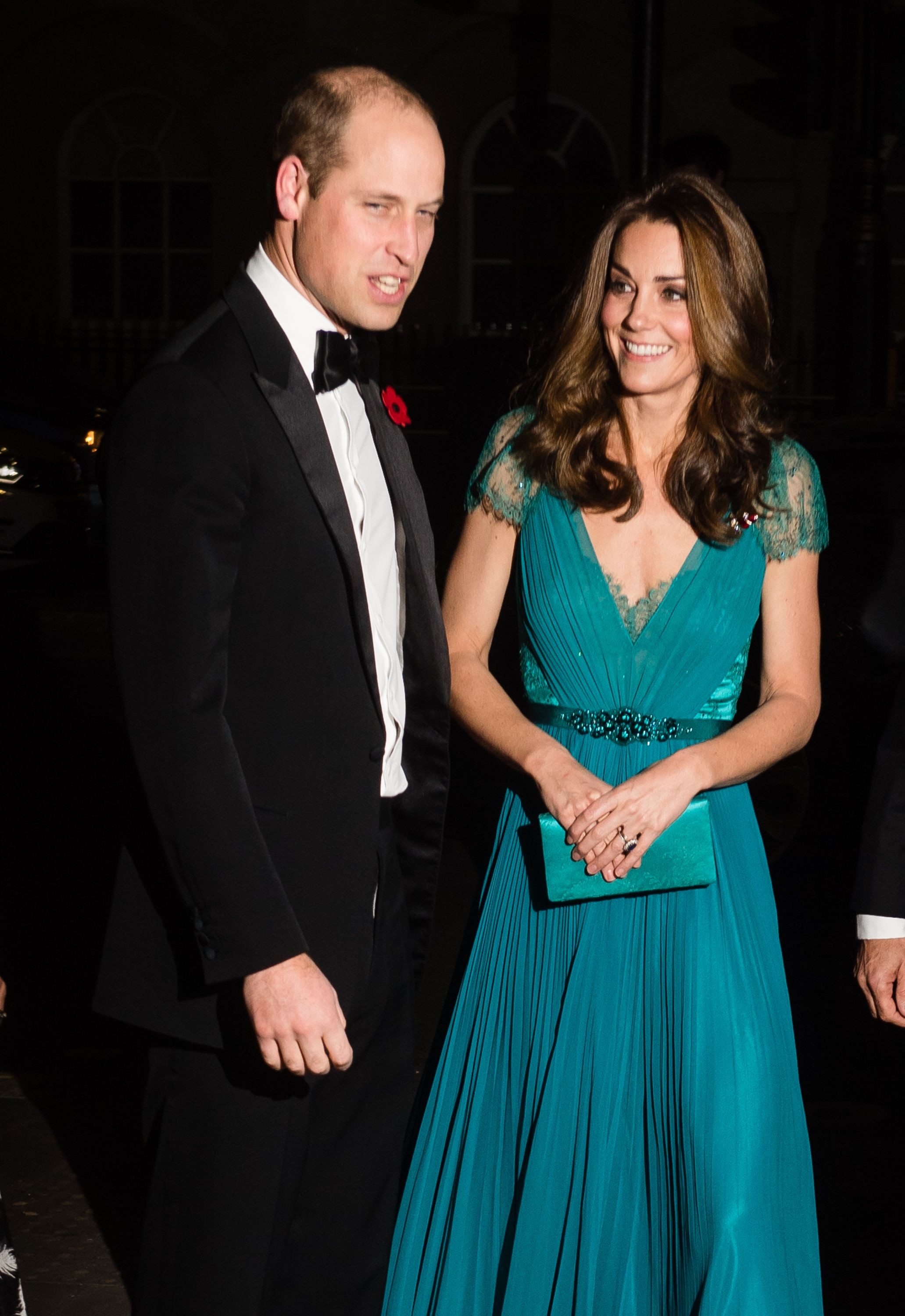 d6735ac046d Kate Middleton Rewore Jenny Packham Dress at 2018 Tusk Conservation Awards  With Prince William