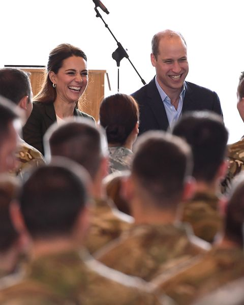 Prince William Jokes About Kate Middleton Dressing Like A