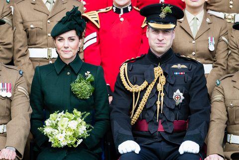 Duques de Cambridge dia de san patricio