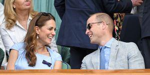 Prince William Duchess of Cambridge Wimbledon 2019