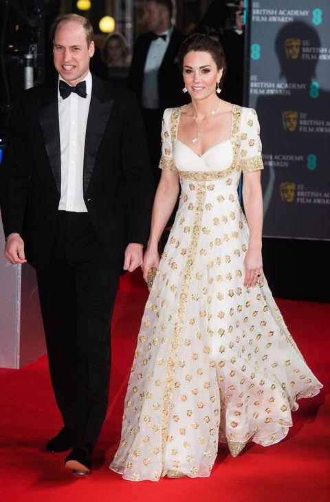 第73回英国アカデミー賞(BAFTA2020)のレッドカーペット速報、キャサリン妃、ウィリアム王子