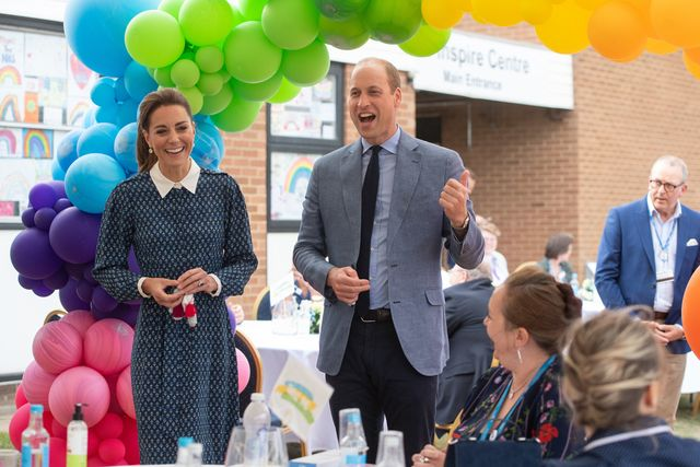 prince williamkate middleton nhs birthday the duke and duchess of cambridge visit queen elizabeth hospital