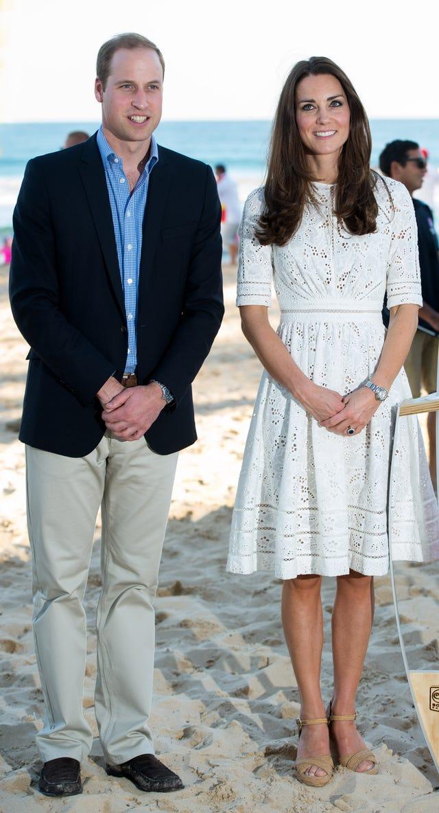 kate middleton principe william vacaciones, familia real vacaciones