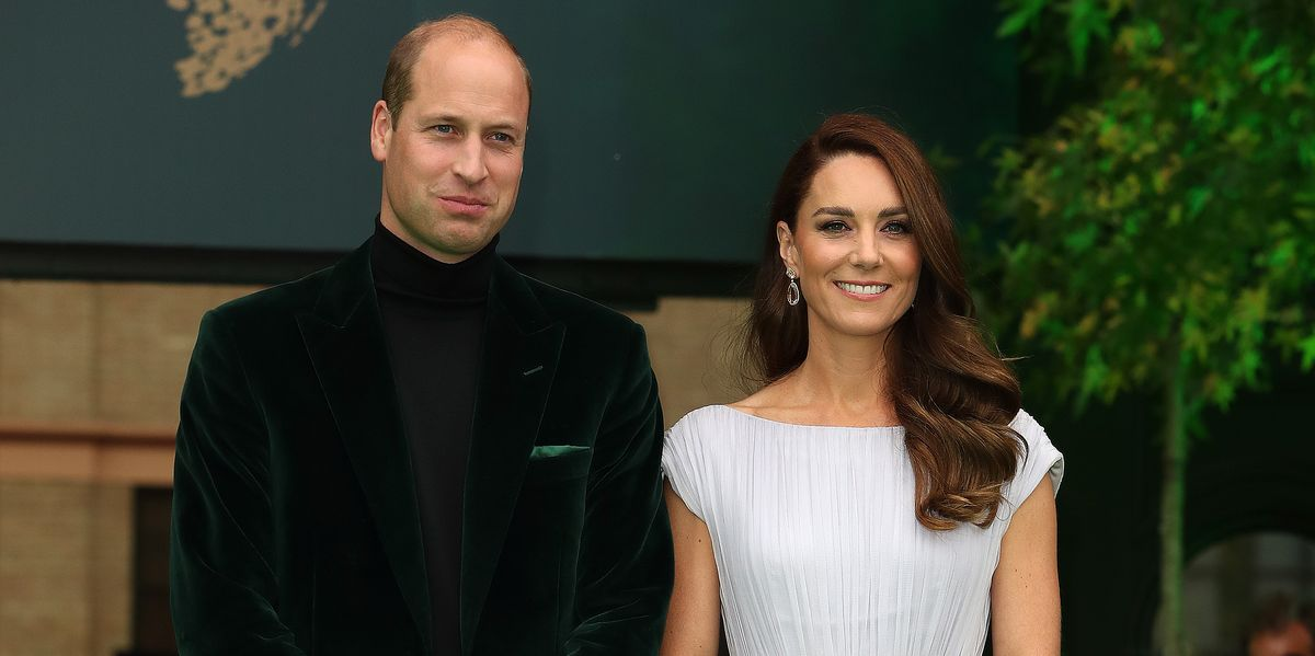 The Duchess of Cambridge looks stunning in floating Grecian-style dress for Earthshot awards