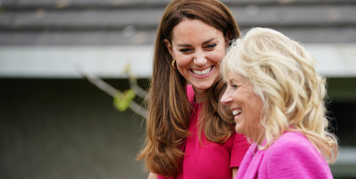 All the Photos From First Lady Jill Biden's Day With Kate Middleton