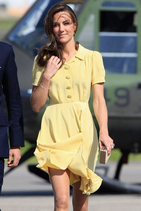 kate middleton's breezy skirt