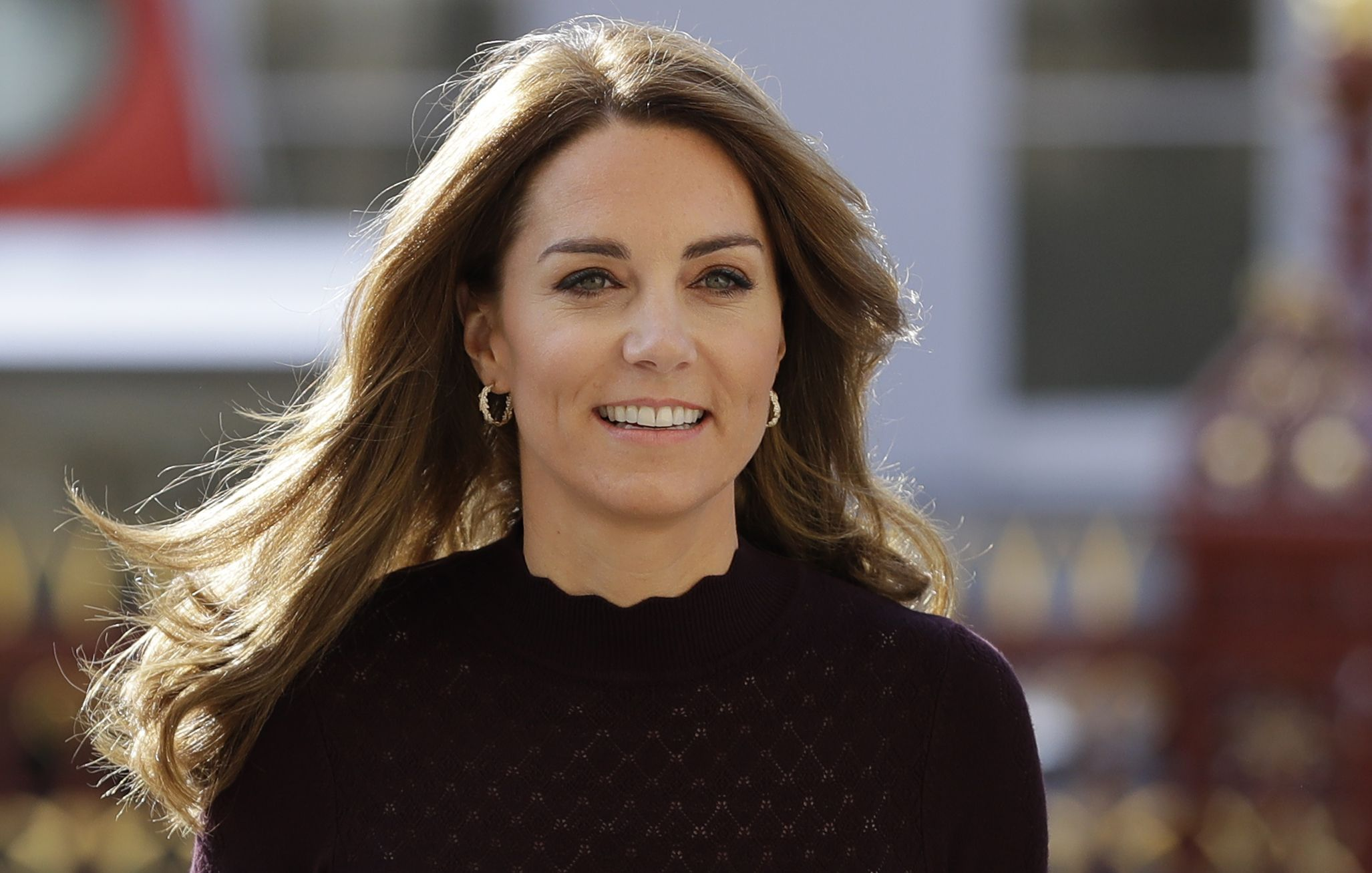 Kate Middleton Steps Out in Wide-Leg Trousers for a Surprise Visit to the Natural History Museum
