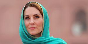 kate middleton lahore mosque shalwar kameez headscarf