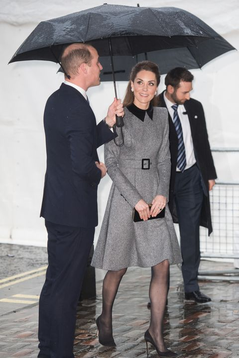 The Duke And Duchess Of Cambridge Attend The UK Holocaust Memorial Day Commemorative Ceremony