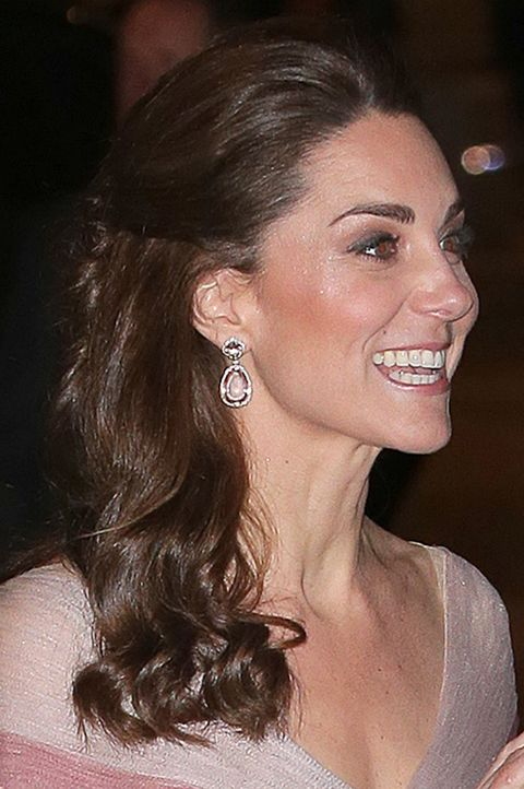 Duchess Of Cambridge Attends 100 Women In Finance Gala Dinner In Support Of 'Mentally Healthy Schools'