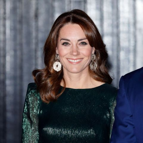 Kate Middleton green dress Ireland