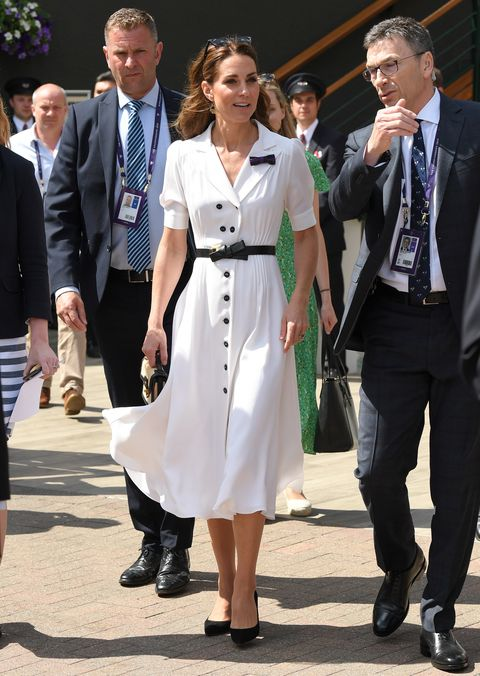 Celebrities Attend Wimbledon 2019